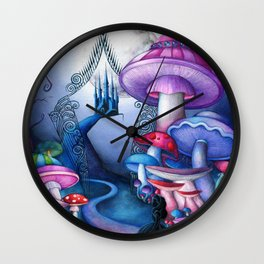 Alice - Gates to Wonderland Wall Clock