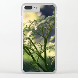 Little Trees Clear iPhone Case