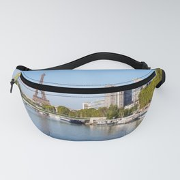 Front de Seine and Eiffel tower - Paris, France Fanny Pack