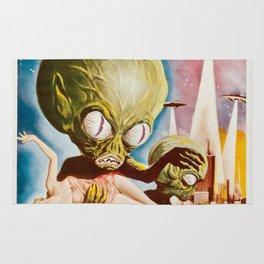 Alien Invasion Rug