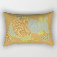 Southwest Armadillo Rectangular Pillow