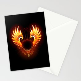 Wings Phoenix Stationery Cards