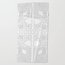 archART no.002 Beach Towel