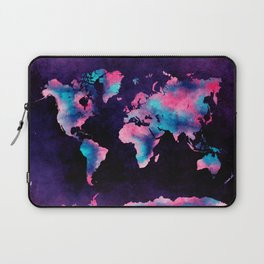world map 62 Laptop Sleeve