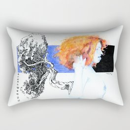 NUDEGRAFIA - 51 red hair Rectangular Pillow