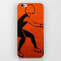 pivot iPhone & iPod Skins featuring Manhattan Mayhem by JezRebelle