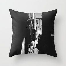 Venetian Streets Throw Pillow