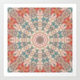 Jungle Kaleidoscope 3 Art Print