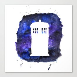On Our Way to Gallifrey Canvas Print