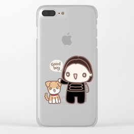 Bucky & Dodger Clear iPhone Case