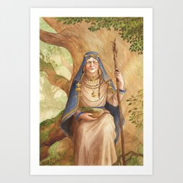 Ruta ~ A Compendium Of Witches Art Print