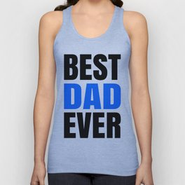 BEST DAD EVER Unisex Tank Top