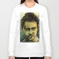 strong Long Sleeve T-shirts featuring Schizo - Edward Norton by Fresh Doodle - JP Valderrama