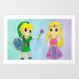 Be Mine, Zelda Art Print