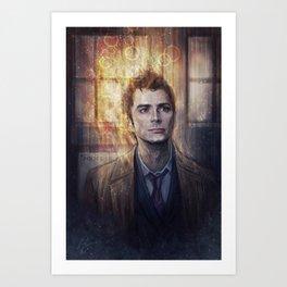 Tenth Doctor Art Print