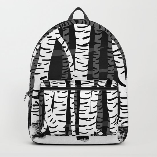 Zebra Trees 04 Backpack