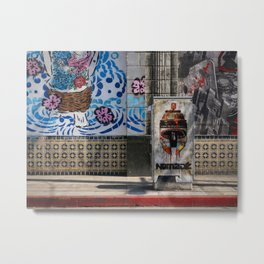 Street Color Metal Print