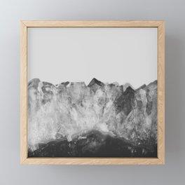 Crystal Soul Geode Framed Mini Art Print