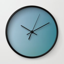 MARINE / Plain Soft Mood Color Blends / iPhone Case Wall Clock