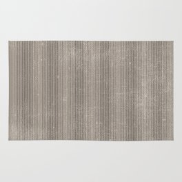 Vintage chic abstract gray geometrical stripes Rug