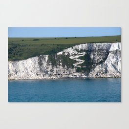 Cliffs of Dover Canvas Print