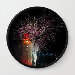 Fireworks, University of Texas Wall Clock