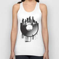 deadmau5 Tank Tops featuring Urban Vinyl by Sitchko Igor