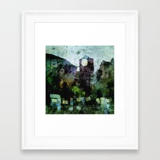 In the Castle Courtyard Framed Art Print