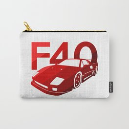 Ferrari F40 - classic red - Carry-All Pouch