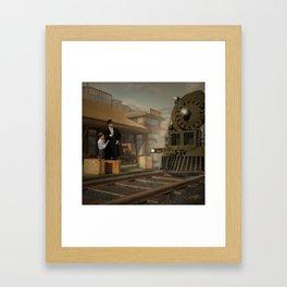 Trip by Rail Framed Art Print