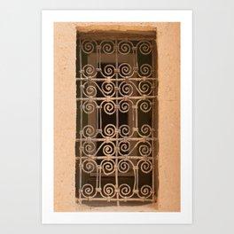 Windows - Sahara Desert II, Morocco Art Print