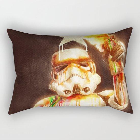 Star Wall II Rectangular Pillow