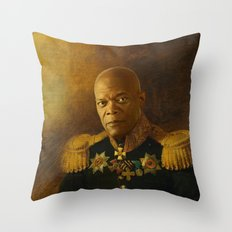 Samuel L. Jackson - replaceface Throw Pillow