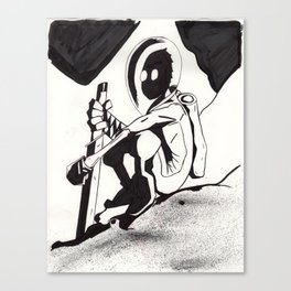 """Mysterious"" Canvas Print"