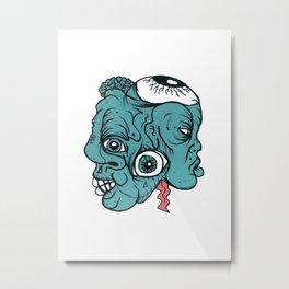 Number #21 Metal Print