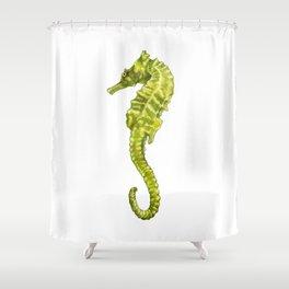 Sergio the Seahorse Shower Curtain