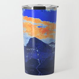 Faith - Hope - Charity - The Three Sisters Mountains, Canmore, AB, Canada Travel Mug