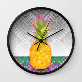 Pineapple Wall Clock