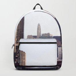 Chicago River Skyline Backpack