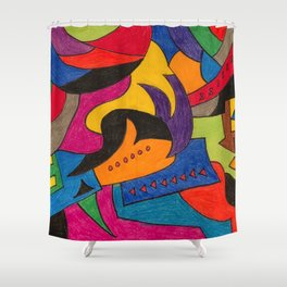 Insecurity Demands Shower Curtain