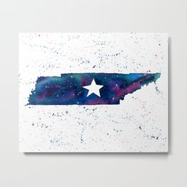 Tennessee Stars / State Painting / Nashville Art / Galaxy Art Metal Print