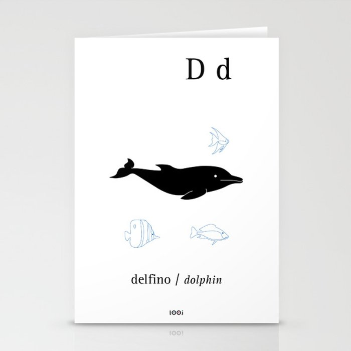 D/Dolphin Stationery Cards