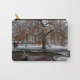 Boston Garden, First snow of the season Carry-All Pouch