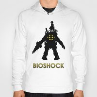 bioshock infinite Hoodies featuring Bioshock by Pixel Design