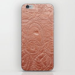 Copper Jellyfish iPhone Skin