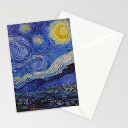 The Starry Night by Vincent van Gogh (1889) Stationery Cards