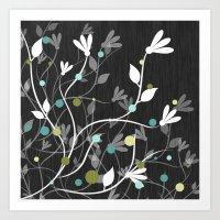 Nightfall Breeze Art Print