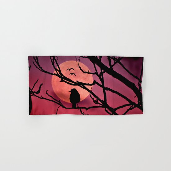 Moonlit dusk Hand & Bath Towel