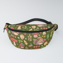 Red mushrooms and friends - GBG Fanny Pack