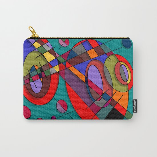Abstract #50 Carry-All Pouch